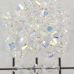 swarovski facet 4 mm - crystal ab
