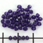swarovski facet 3 mm - purple velvet