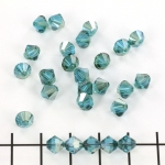 swarovski facet 6 mm - indicolite