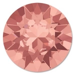 swarovski chaton ss39 8mm - blush rose