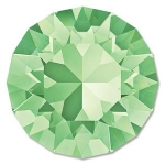 swarovski chaton ss39 8mm - chrysolite