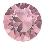 swarovski chaton ss39 8mm - antique pink