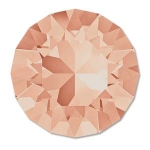 swarovski chaton ss39 8mm - light peach