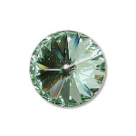 swarovski rivoli 12 mm - chrysolite