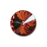 swarovski rivoli 12 mm - crystal chilli pepper