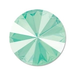 swarovski rivoli 12 mm - mint green