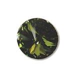 swarovski rivoli 12 mm - olivine
