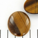 cabochon 40 x 30 mm - tiger eye