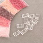 Tragerperlen set - roze