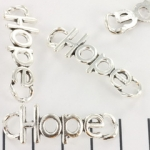 tussenzetsel quote - hope zilver 38mm