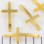 tussenzetsel kruis - goud