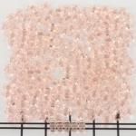 tweegats kralen 5 mm - lichtroze rosaline