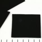 ultrasuede 5 x 5 cm - black onyx