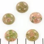 cabochon rond 15 mm  - unakiet