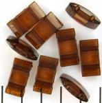 verdeler tragerperlen - bruin