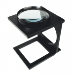 magnifying glass - black