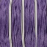waxkoord 0.5 mm - lila paars