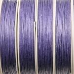 waxkoord 1 mm - lila paars