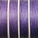 waxed cord 1 mm - mauve