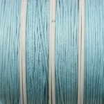 waxed cord 1 mm - light turquoise