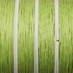 waxed cord 1 mm - light  green