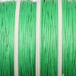 waxed cord 1 mm - green