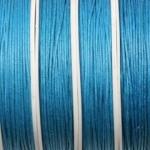 waxkoord 1 mm - turquoise