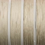 waxed cord 1 mm - beige