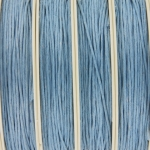 waxed cord 1 mm - light blue