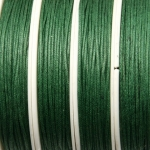 waxed cord 1 mm - dark green