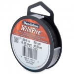beadalon wildfire - zwart 0.15 mm