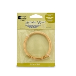 artistic wire 14 gauge - non-tarnish brass