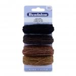 beadalon jute cord - set of 4 colors