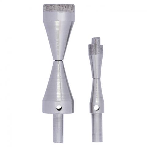 Extra foto's cone mandrel tool set - opzetstukken voor diabolo-vorm 2 sets