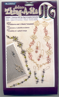 Extra foto's beadalon wire artist - thing-a-ma-jig deluxe