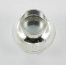 Extra foto's magnetisch slotje supersterk voor veters - 6 mm gat lichtzilver