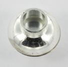 Extra foto's magnetisch slotje supersterk voor veters - 5 mm gat lichtzilver
