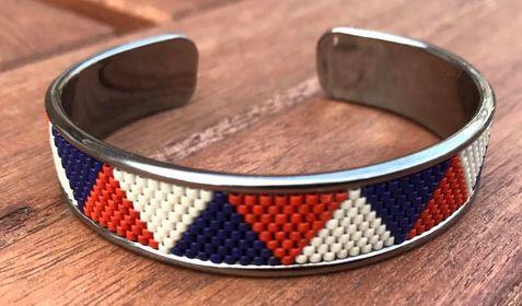 Extra foto's metalen basis armband voor 10 mm koord - antiek zilver