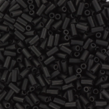 Extra foto's miyuki bugles 3 mm - matte black