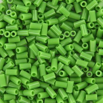 Extra foto's miyuki bugles 3 mm - opaque green