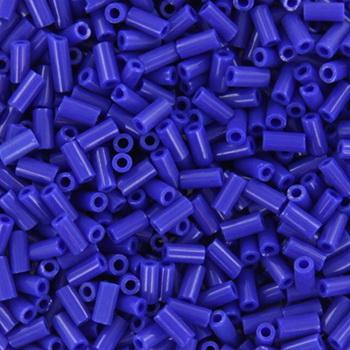 Extra foto's miyuki bugles 3 mm - opaque cobalt