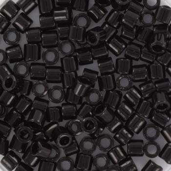 Extra foto's miyuki delica's 8/0 - opaque black