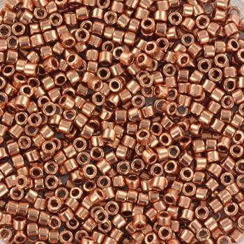 Extra foto's miyuki delica's 11/0 - plated copper