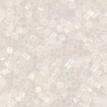 Extra foto's miyuki delica's 11/0 - crystal ab silk satin