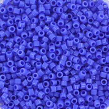 Extra foto's miyuki delica's 11/0 - opaque cyan blue