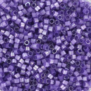 Extra foto's miyuki delica's 11/0 - silk satin dyed lilac