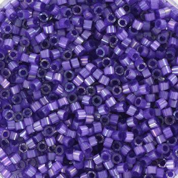 Extra foto's miyuki delica's 11/0 - silk satin dyed purple