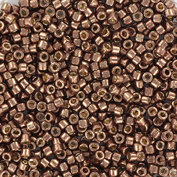 Extra pictures miyuki delica's 11/0 - duracoat galvanized dark mauve