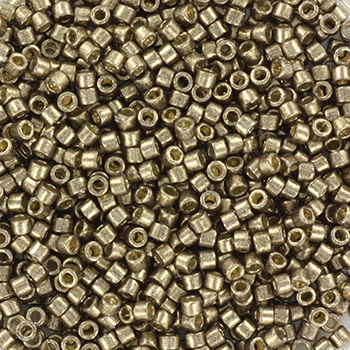 Extra pictures miyuki delica's 11/0 - duracoat galvanized pewter
