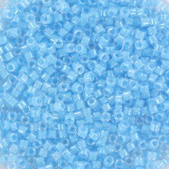 Extra foto's miyuki delica's 11/0 - luminous ocean blue